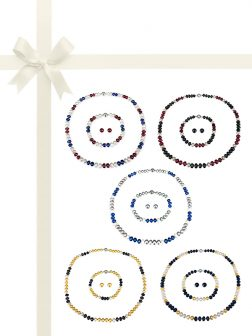 PACIFIC PEARLS PATRIOT COLLECTION Military Pearl Jewelry Gift Set