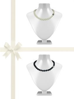 PACIFIC PEARLS VANUATU COLLECTION 11-12mm Pearl Necklace Gift Set