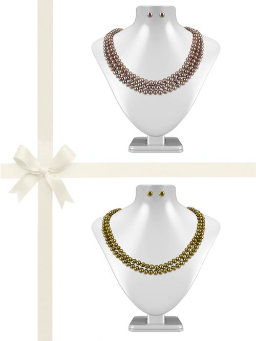 PACIFIC PEARLS TARA ISLAND COLLECTION Regal Pearl Gift Set