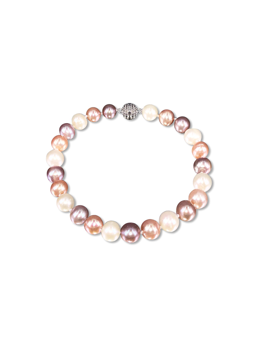 PACIFIC PEARLS BUA BAY COLLECTION Pastel 7-8mm Pearl Bracelet