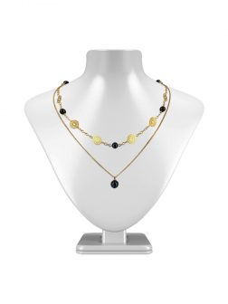PACIFIC PEARLS SUNSHINE COAST COLLECTION Soleil 18K Yellow Gold Filled Graduated Pearl Necklace