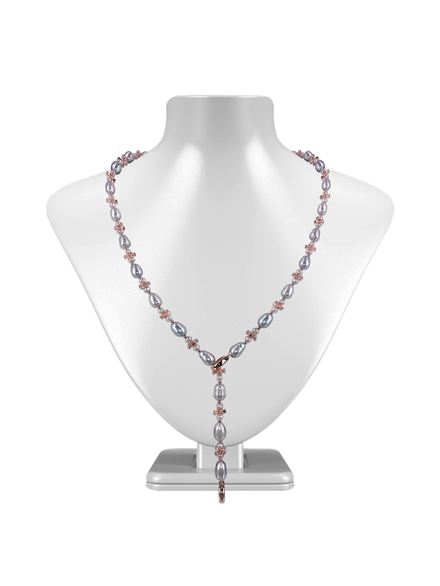 Teraina Cove Collection 18k Rose Gold Filled Pearl