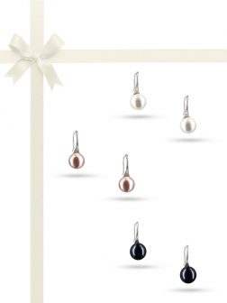 PACIFIC PEARLS PALLISER-LAGOON-COLLECTION-Swan-Reverie-925-Sterling-Silver-Pearl-Earring-Gift-Set