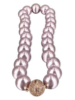 PACIFIC PEARLS VANUATU COLLECTION Jaipur Princess 13-15mm Metallic Edison Pearl Necklace