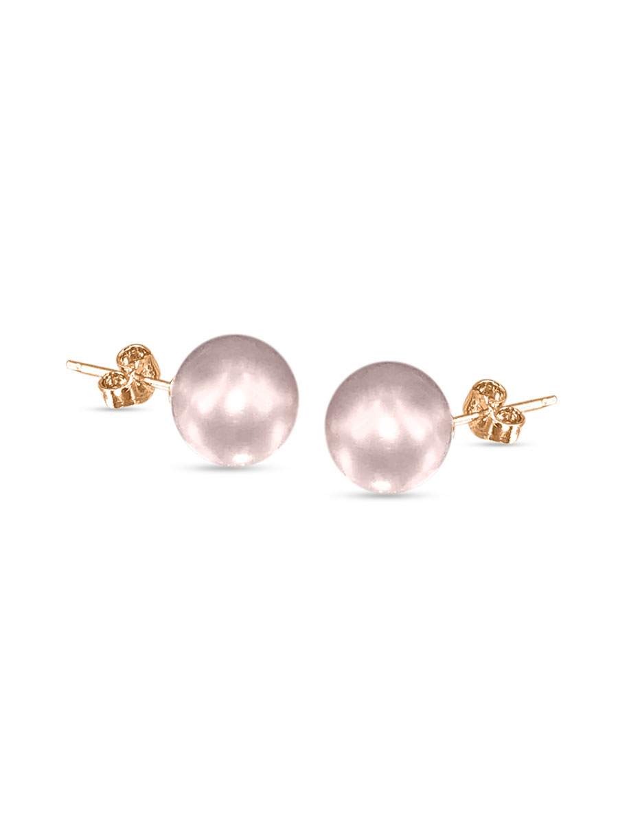 PACIFIC PEARLS VANUATU COLLECTION Blush 11mm Pearl Stud Earrings