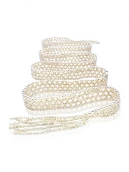 SOCIETY ISLANDS COLLECTION 2100 Pearl Scarf Necklace