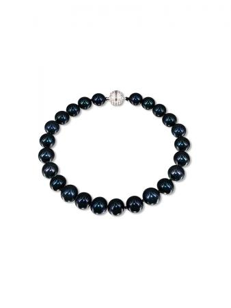 PACIFIC PEARLS BUA BAY COLLECTION Black 7-8mm Pearl Bracelet