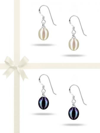 SULU SEA COLLETION DROP PEARL EARRING GIFT SET