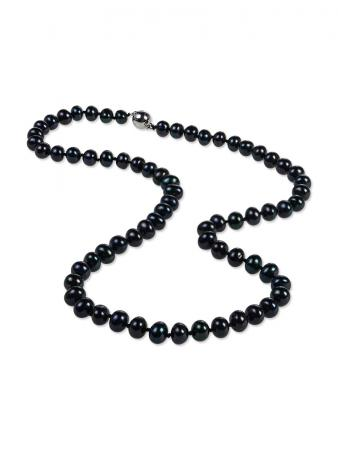 PALLISER LAGOON COLLECTION Midnight 7-8mm Pearl Necklace A