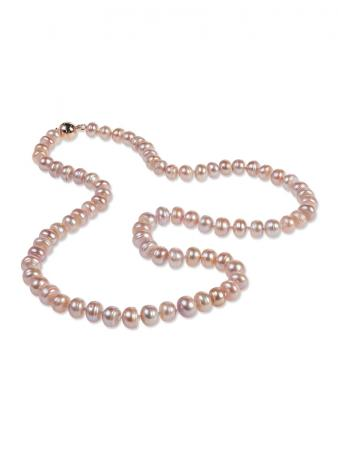 PALLISER LAGOON COLLECTION Rose 7-8mm Pearl Necklace A