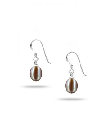 PACIFIC PEARLS SULU SEA COLLECTION Pink Pearl Drop Earrings